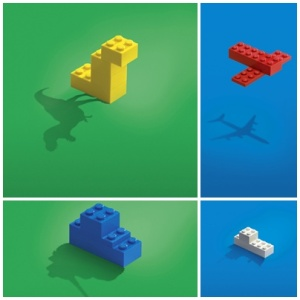lego block advertising