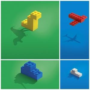 lego block advertising