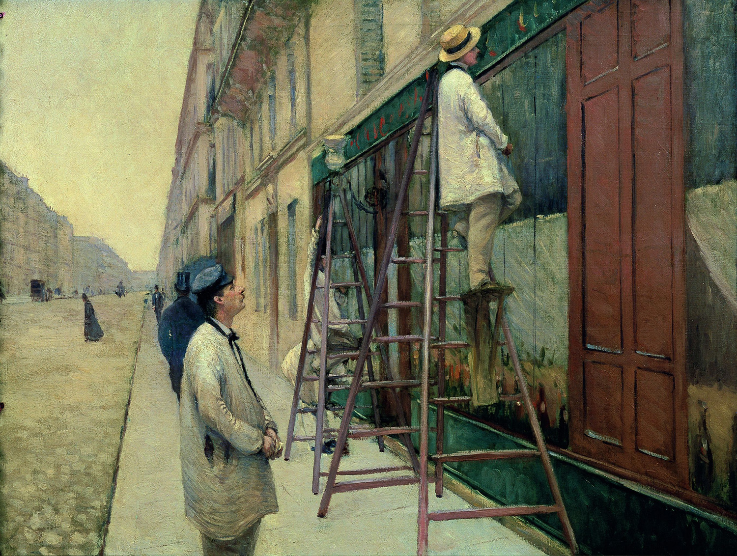 Gustave caillebotte adbrio 39 s websoil for Peintre en batiment